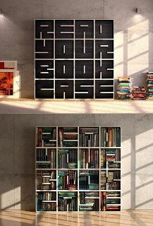 Read your book case..