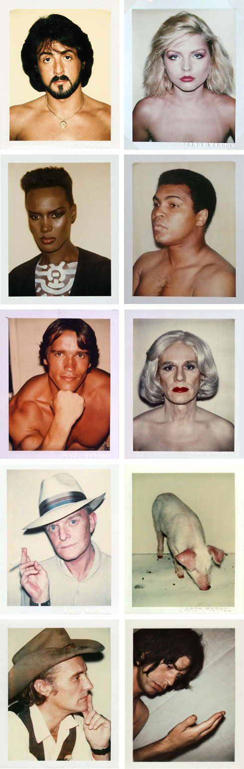 Andy-Warhol-polaroids