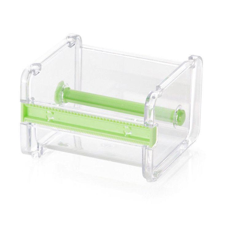 Desktop Washi Paper Tape Dispenser Tape Cutter Roll Tape Holder Storage | eBay