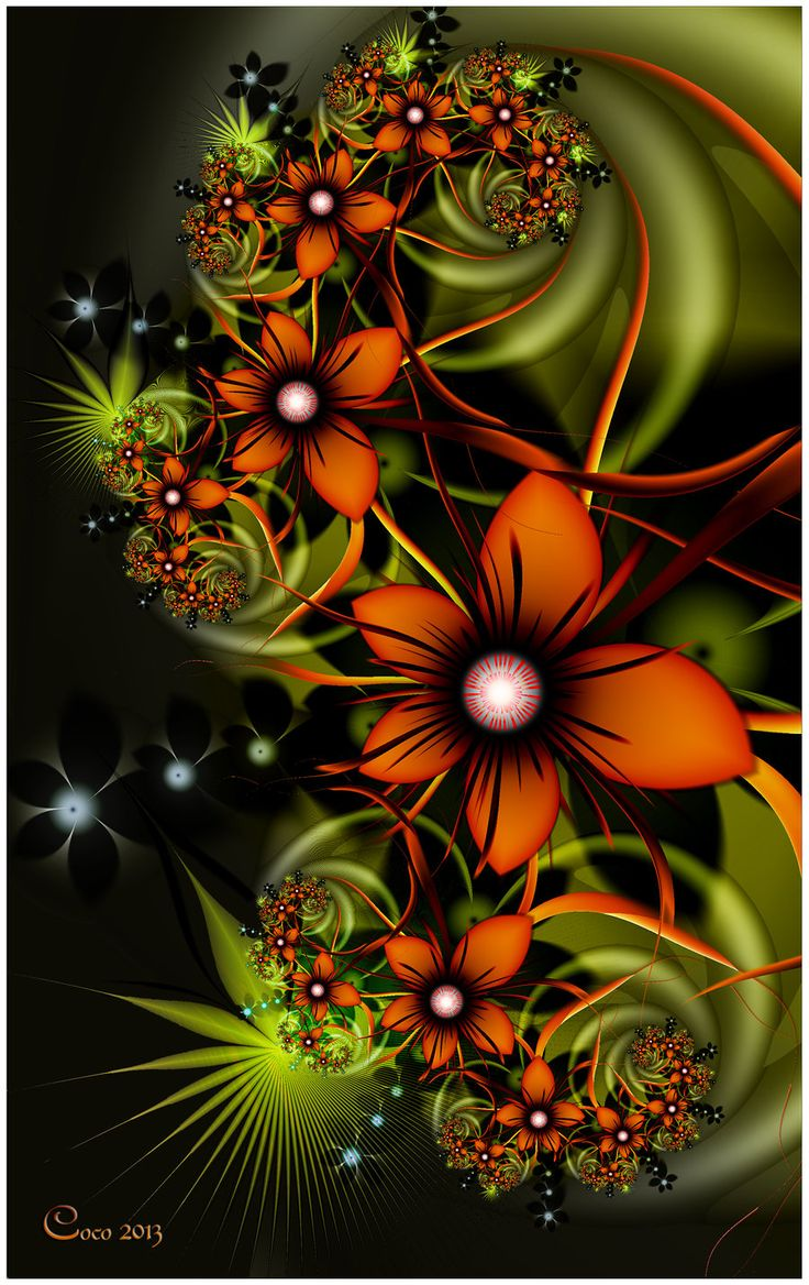 Tropical+Blooms+by+kayandjay100.deviantart.com+on+@deviantART