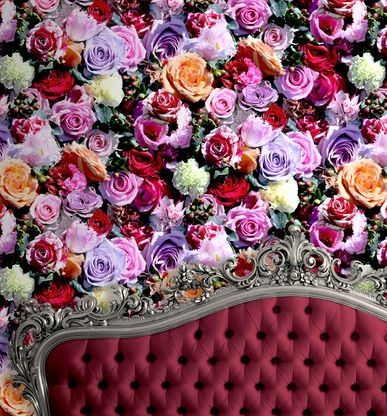 Fresh Bouquet Vibrant is $99 per roll and is intense and colourful. Available at www.wallcandywallpaper.com.au