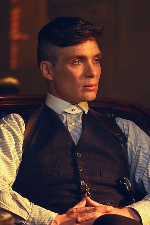 Can't wait for season three! Peaky Blinders - Tommy Shelby (Cillian Murphy)
