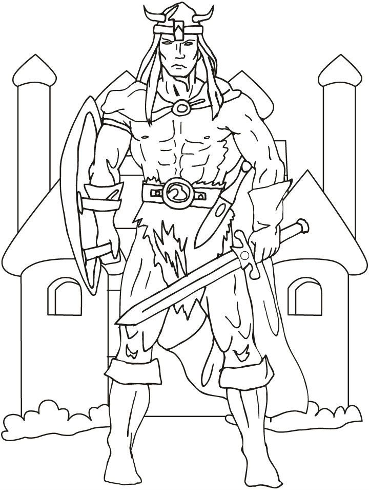 Very Powerful Kings Coloring Pages For Kids Printable Queens And Princesses