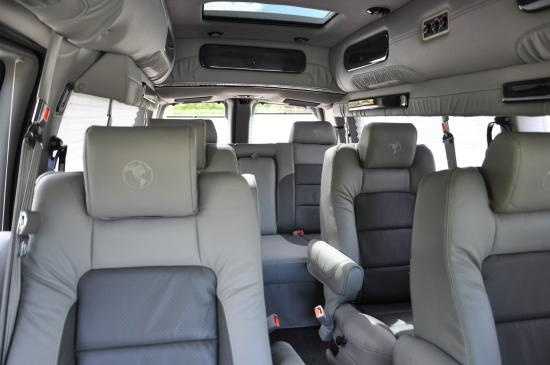 Ford Transit Passenger Van >> 2013 Chevy Express 9 passenger van, leather seats, and all the bells and whistles. | Money for ...
