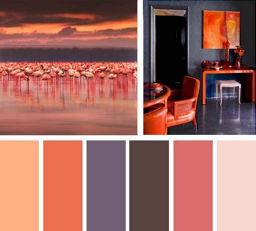 M s de 20 ideas incre bles sobre paletas de color naranja - Paletas de colores para paredes ...