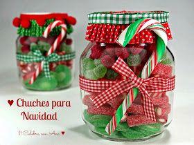 Celebra con Ana: ♥ Botes de chuches para Navidad