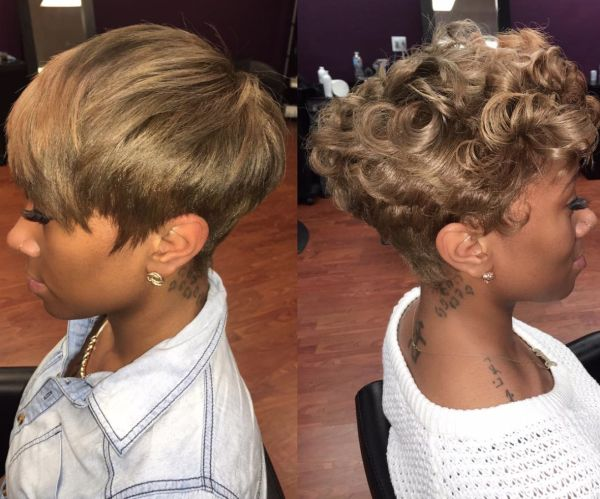 80s Hairstyles For Short Hair Black: 148 Best Short Hairstyles Images On Pinterest