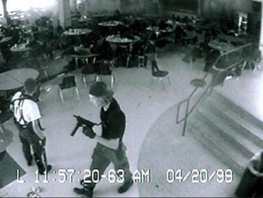 Shooting at Columbine; Colorado, USA