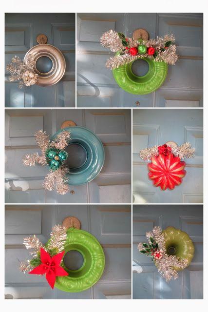 JellO Molds and Bundt Pan wreaths: monkeybox