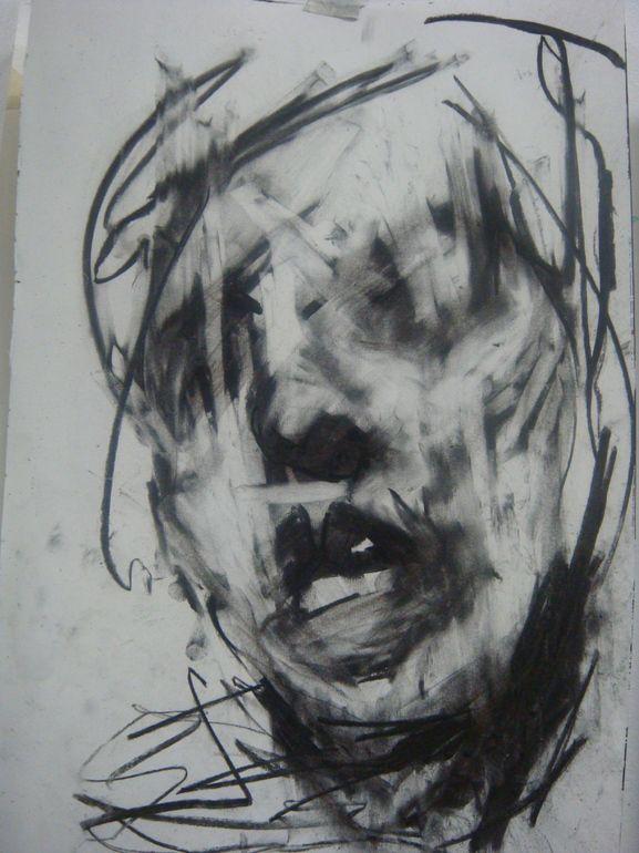 charcoal artist studio | Saatchi Online