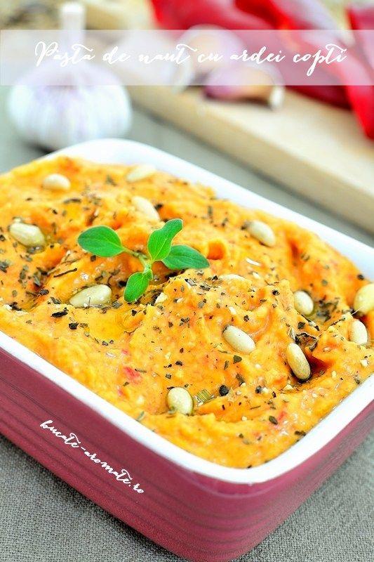 Pastă de năut cu ardei copţi - Bucate Aromate
