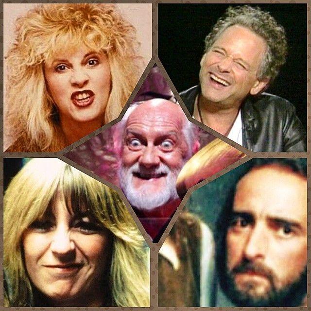 Fleetwood 'funny face' Friday ☺ #fleetwoodmac #funnyface #TGIF #crazyeyes #stare #laugh #mac #fbf #flashback #lindseybuckingham #mickfleetwood #christinemcvie #stevienicks #smile #johnmcvie #faces #flashbackfriday #funnyfaces
