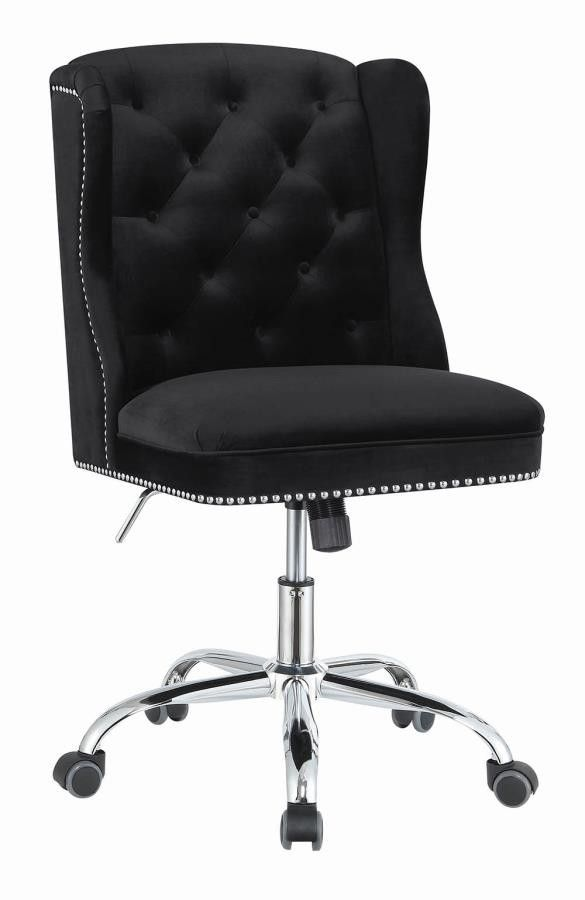Home Office Chairs Modern Black Velvet Office Chair Velvet Office Chair Office Chair Chair