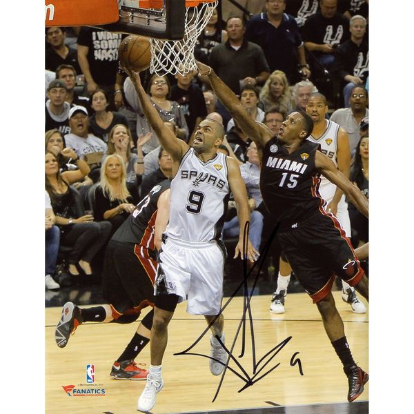 "Tony Parker San Antonio Spurs Fanatics Authentic Autographed 8"" x 10"" 2013 NBA Finals Photograph - $99.99"