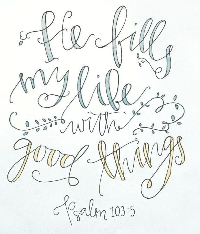 Psalm 103:5                                                                                                                                                      Plus