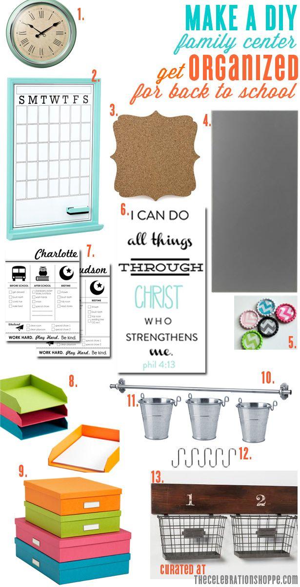 Make a DIY Family Center