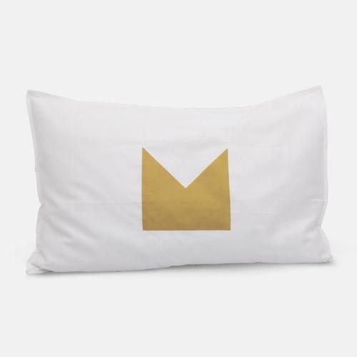 Gold Crown Pillowcases   Jennifer + Smith