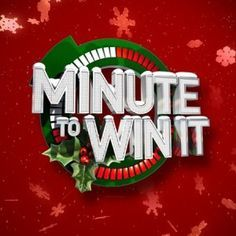 12 simple and hilariously fun Christmas-themed Minute-to-Win-It games!