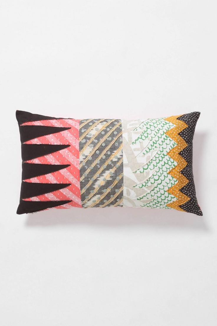 Crest \u0026 Fall Pillow from Anthropologie & 92 best Fabric Scrap Pillows images on Pinterest | Cushions ... pillowsntoast.com