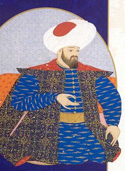 Osman I - the founder of the Ottoman Empire.