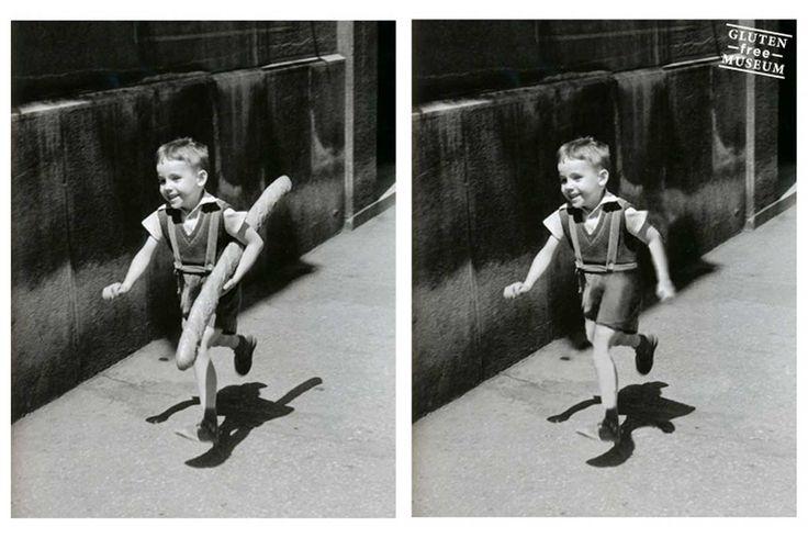 Il grafico francese Arthur Coulet ha deciso di combattere la celiachia a colpi di photoshop: ecco le opere d'arte (e non solo) in versione gluten free.