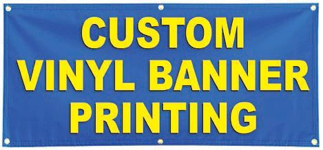 Customized #Vinyl_Banners - #Custom_Banners