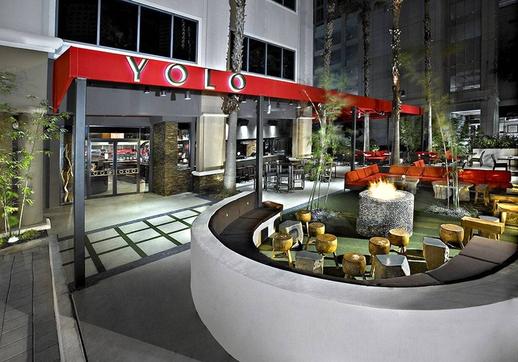 Located on Las Olas in Downtown Fort Lauderdale.  Enjoy dinner at YOLO and then go next door to O Lounge to dance the night away.