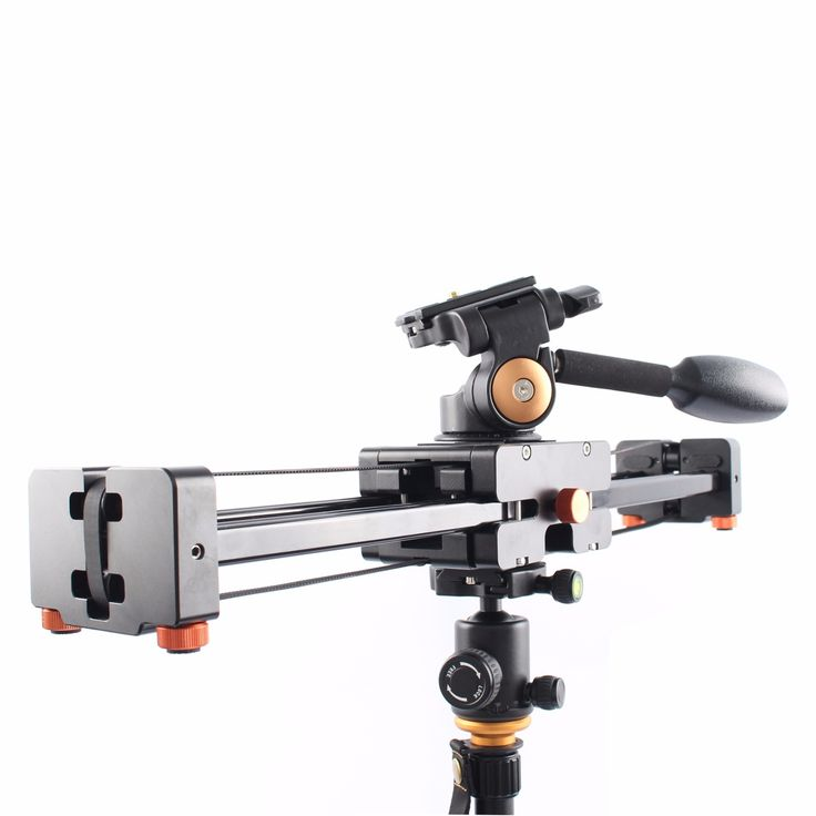 165.55$  Buy now - http://aliri1.worldwells.pw/go.php?t=32638273056 - Commlite CS-V500 Retractable Video Slider 50cm Dolly Track Stabilizer 1m Actual Sliding Distance Load Up 8kg + 3-Way Fluid Head