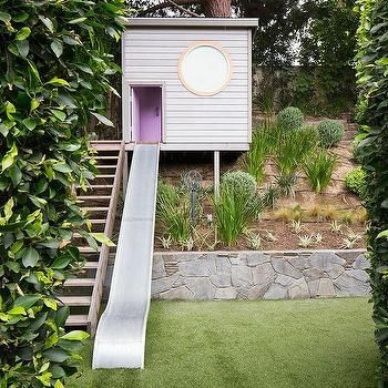 Tree House with Slide, Cottage, Deck/patio