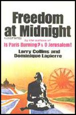 Freedom at Midnight by Larry Collins and Dominique Lapierre