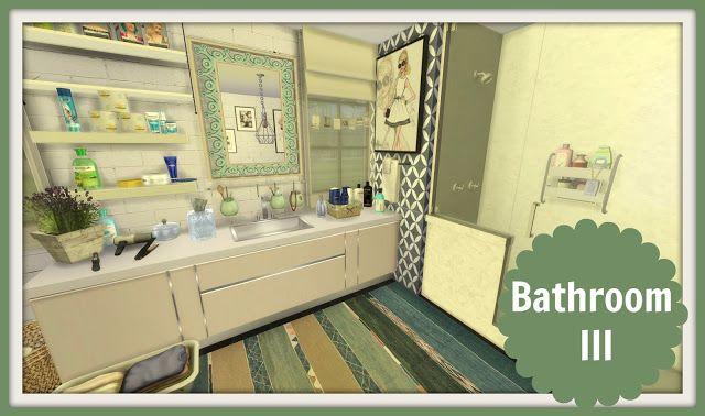 Sims 4 - Bathroom III
