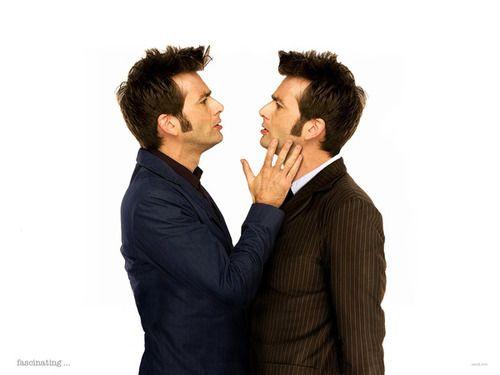 Two Davids? <3: Kiss, Birthday, Doctorwho