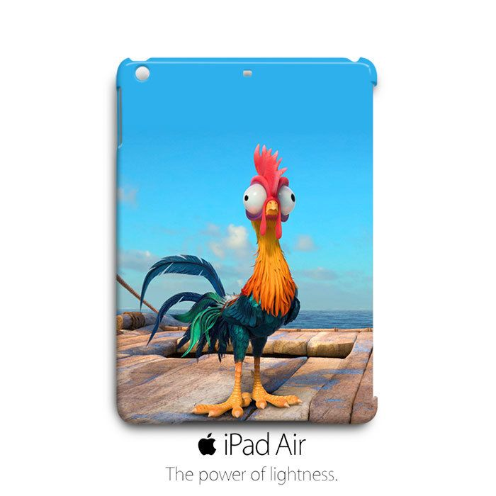 Moana Heihei Rooster on Deck iPad Air Case Cover Wrap Around