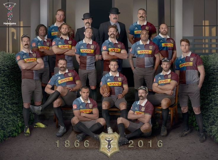 Harlequins 150th Season Strip - Absolute genius. Now for some vintage play boys!