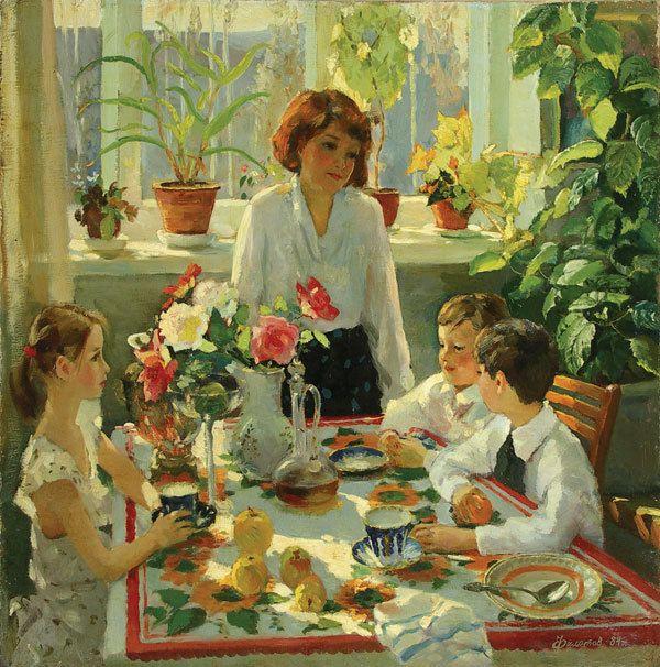 Филатов Владимир Викторович (род. 1952, Пенза). = День рождения.1984