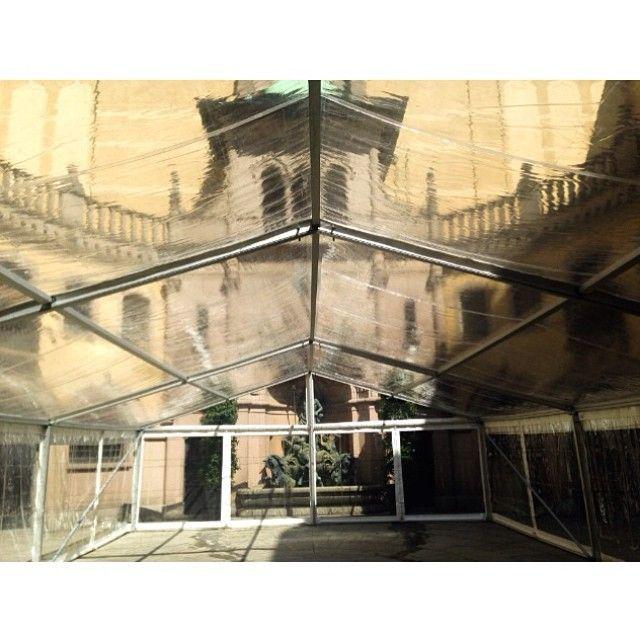 Heltransparent #tält på #Hallwylska!  #tavet #tent #event #party #tält #fest #dukning #uthyrning #festtält #hyratält #hallwylskamuseet #hallwylskapalatset