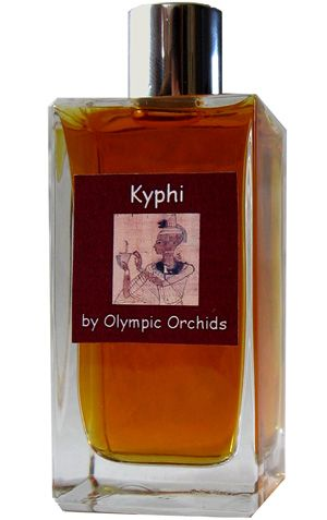 Kyphi by Olympic Orchids Artisan Perfumes is a warm, spicy, balsamic Oriental Woody fragrance based on the ancient formula of the Egyptian incense that was burned to welcome the night.  It features labdanum, beeswax, benzoin, olibanum, myrrh, Himalayan nard, lemongrass, bitter orange, mimosa, cyperus esculentus, saffron, juniper, and spices. - Fragrantica <3<3<3<3<3