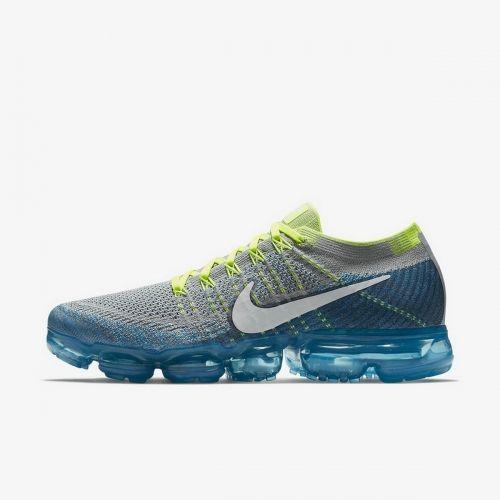 e5f65aa3410 Nike Air VaporMax Sprite Flyknit Wolf Grey White Chlorine Blue-Photo Blue  849558-022