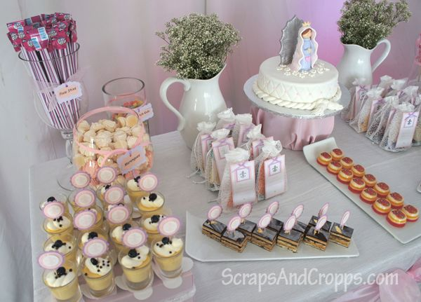 1st Communion Party First Communion Ideas Pinterest
