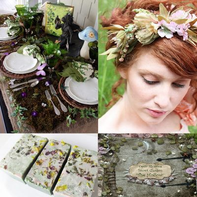 The Garden Fairy Baby Shower Theme, if I have a girl, I have to do this!
