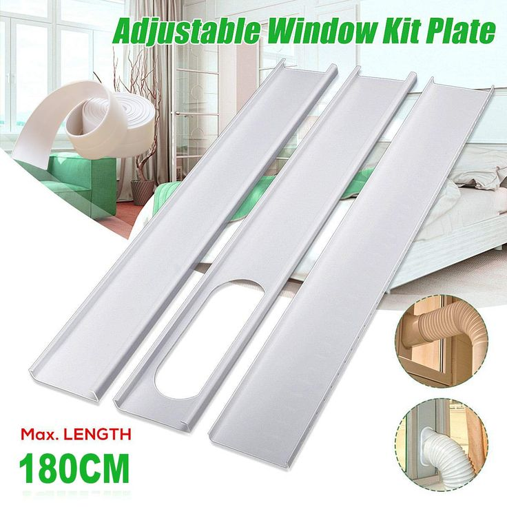 Aozzy Portable Air Conditioner Plastic Window Kit Vent Kit For Sliding Glass Wi In 2020 Portable Air Conditioner Window Window Air Conditioner Portable Air Conditioner