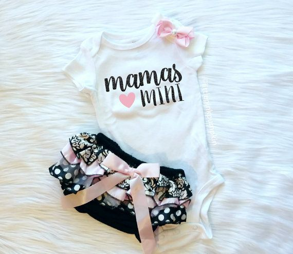 Baby Girl Clothes Mommy and Me Mommy's Girl by littlepinkpumpkin