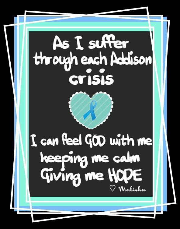 Addisons crisis                                                                                                                                                                                 More