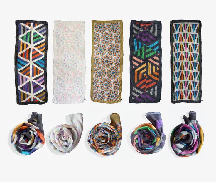 David David® cashmere-blend scarves