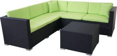 heute-wohnen Poly-Rattan Sofa-Garnitur ROM Basic, Sitzgruppe Lounge-Set, Alu Jetzt bestellen unter: https://moebel.ladendirekt.de/garten/gartenmoebel/loungemoebel-garten/?uid=47cfe4bc-c9d0-5073-8b79-c6d51993226c&utm_source=pinterest&utm_medium=pin&utm_campaign=boards #loungemoebelgarten #garten #gartenmoebel