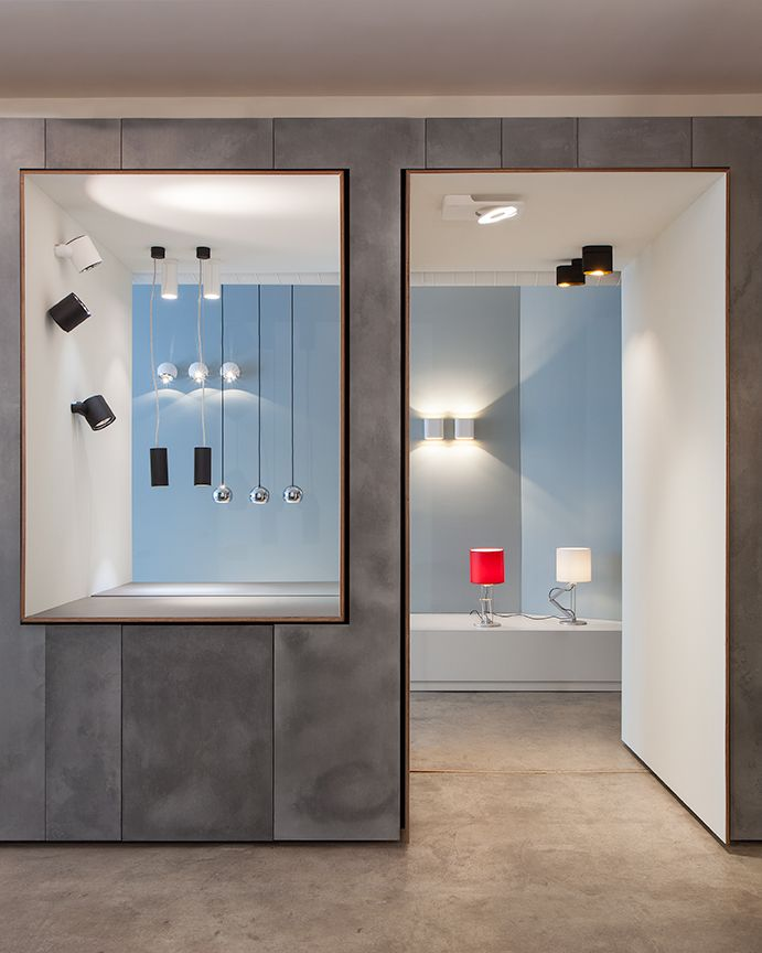 Modular Lighting Instruments. New York showroom, @ 14 Wooster ...