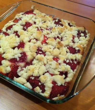Fresh Strawberry Cobbler from Food.com:   								Great way to use fresh strawberries.
