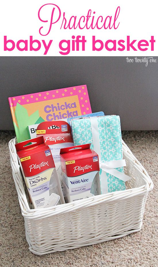 This post is brought to you by Playtex.  As always, all opinions are my own. One of my friends is about to have her first baby so I put together a practical baby gift basket for her.  I specifically chose things that will be useful to my friend and her baby. I included some books from her …