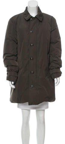 Moncler Sawtell Knee-Length Coat