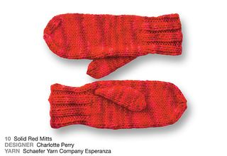 © SOHO Publishing Co. #10 Red Mittens by Charlotte Parry